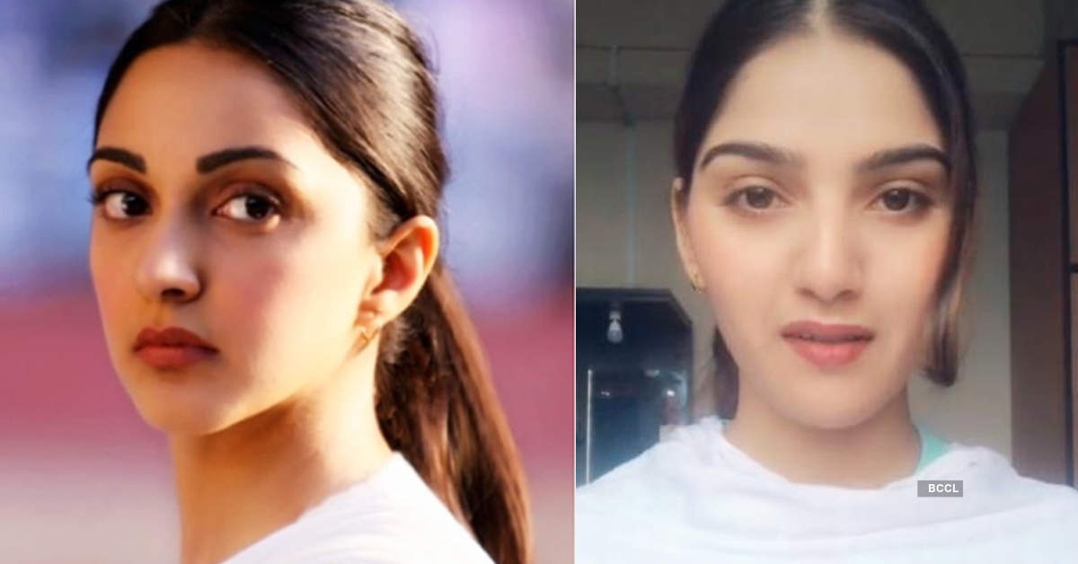 Pictures of Kiara Advani's lookalike are breaking the internet