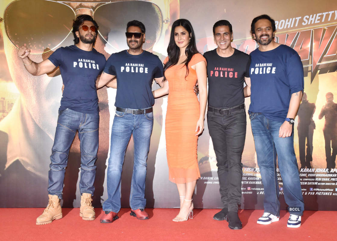Sooryavanshi: Trailer launch