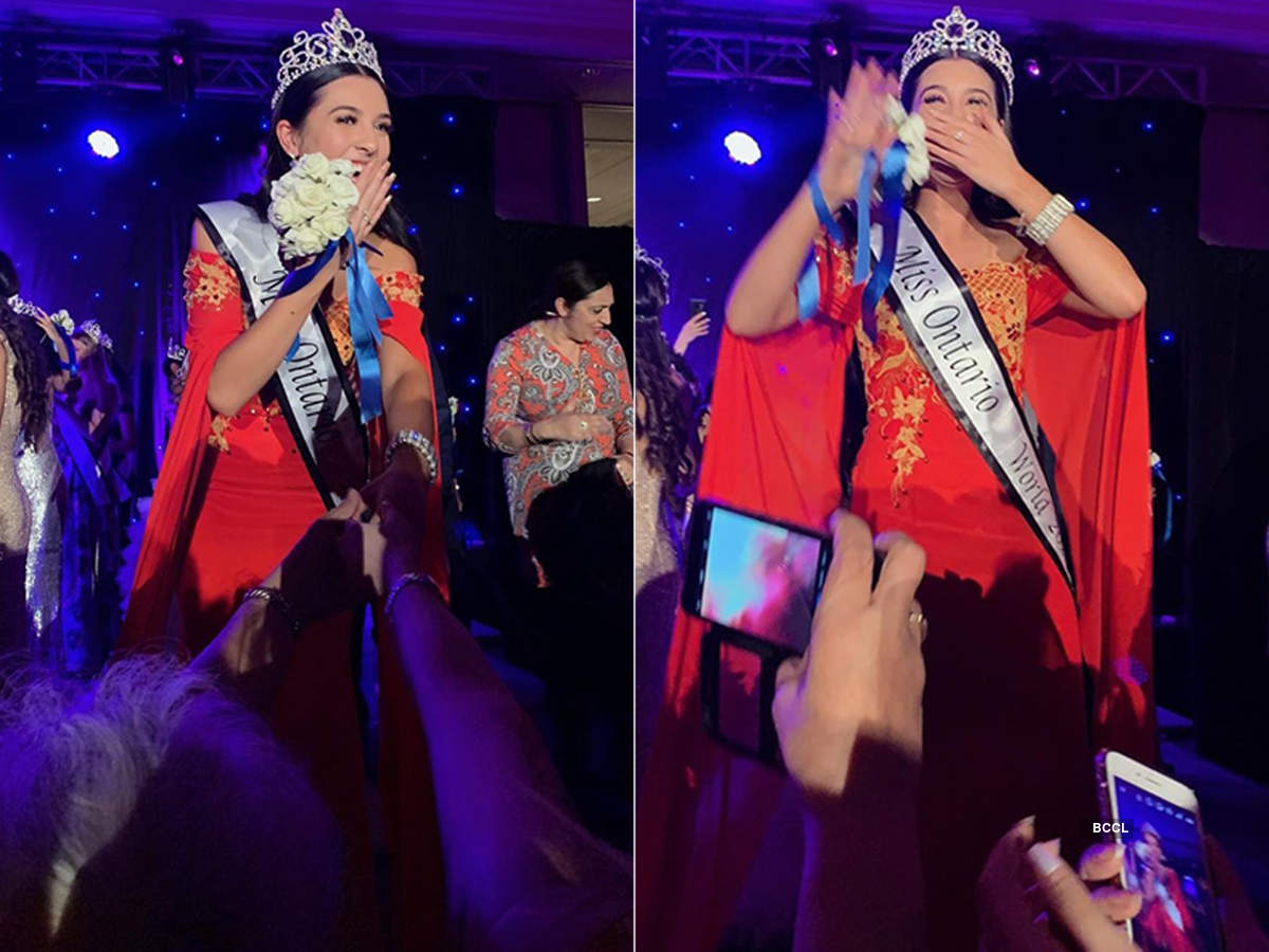 Hayley Bowdery crowned Miss World Ontario 2020