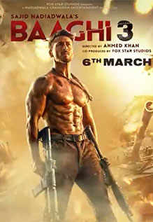 Baaghi 3 (2020) Hindi Movie 1080p HDRip 3.4GB Download