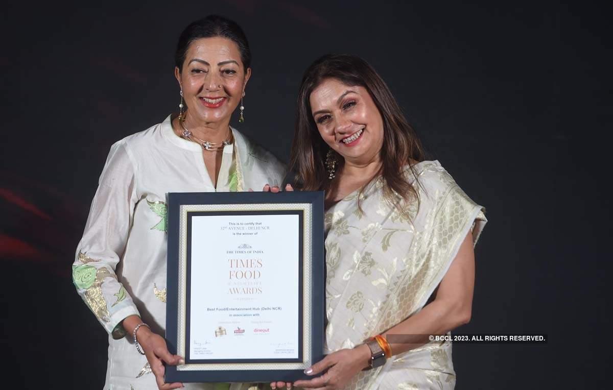 Times Food and Nightlife Awards '20 - Delhi: Winners