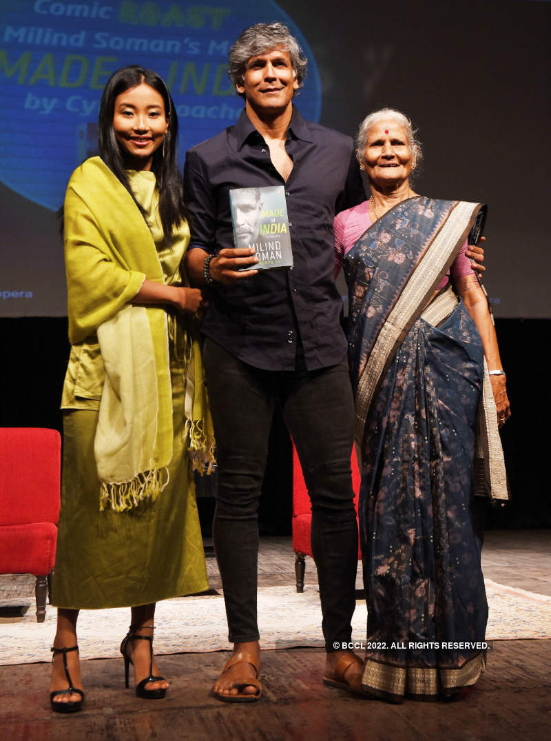 Milind Soman launches his debut book 'Made In India'