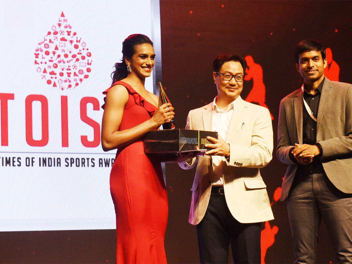 PV Sindhu's message after winning TOISA Sportsperson of the year award