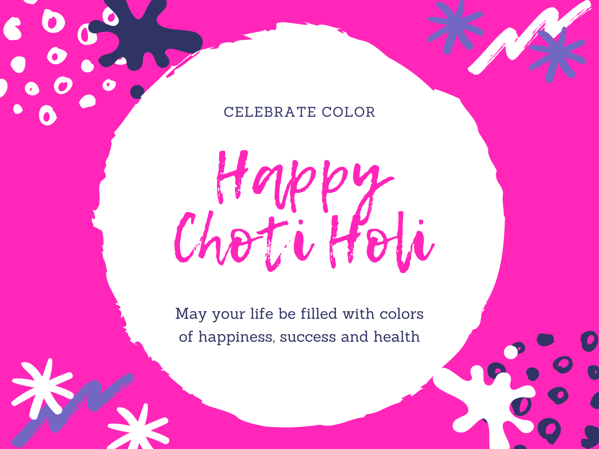 Choti Holi 1