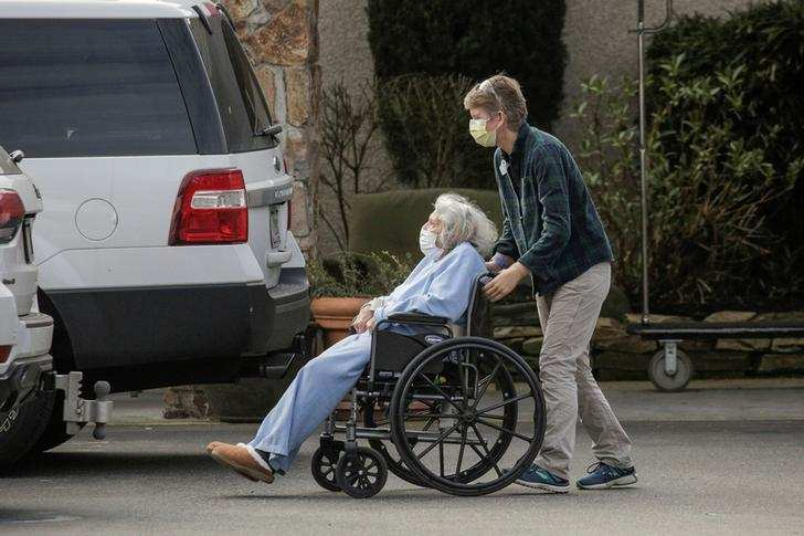 Deadly coronavirus outbreak at U.S. nursing home