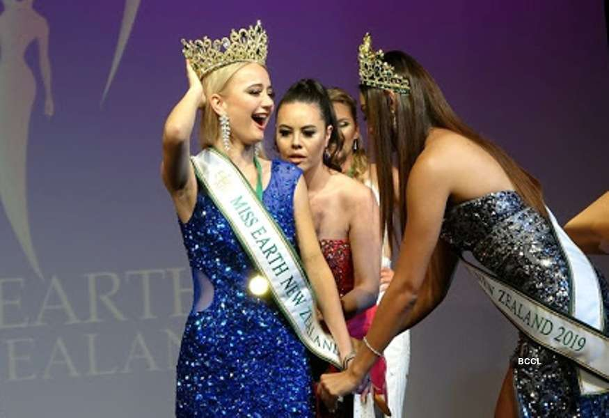 Charlise Hammond crowned Miss Earth New Zealand 2020