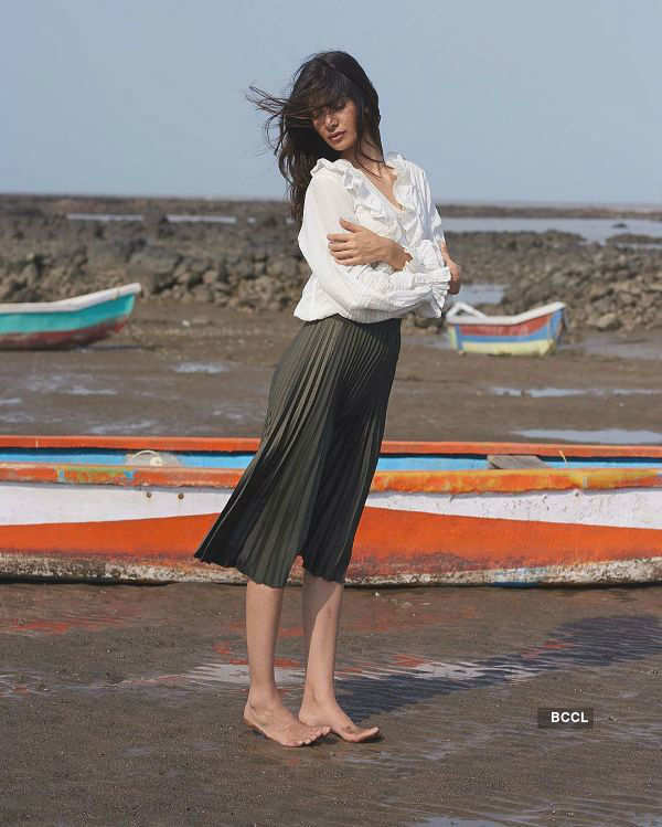 Sumita Bhandari beats the heat with pleats