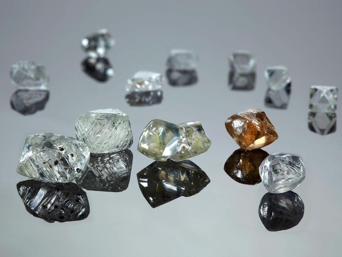 Uncut diamonds