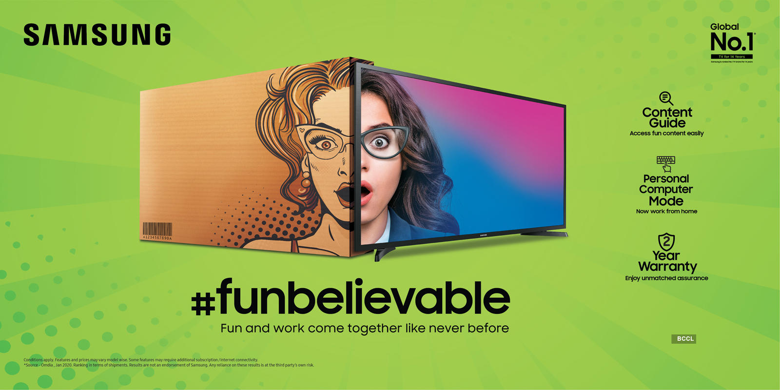 Samsung launches new TV series