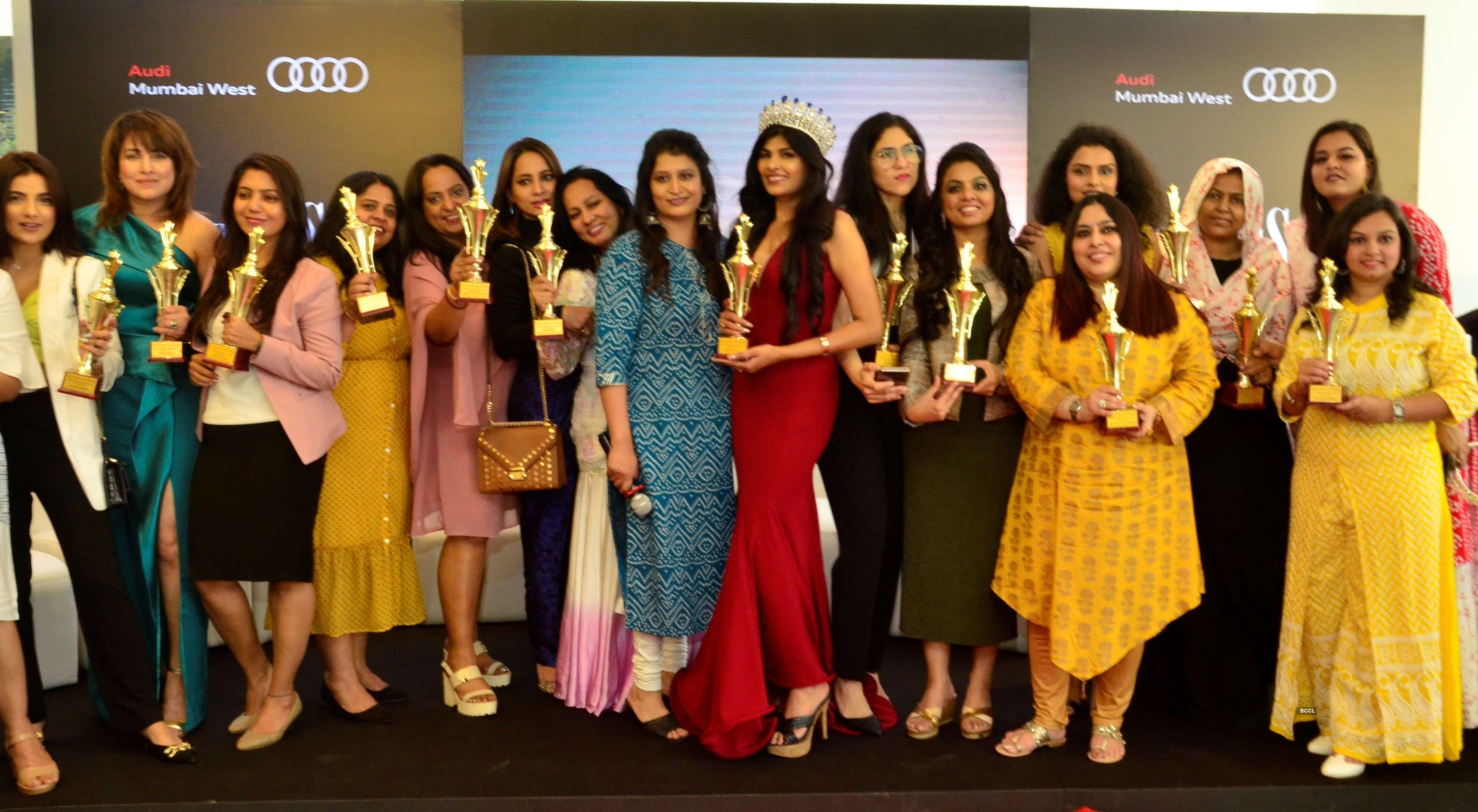 Pictures of the 4th Edition of AspiringShe Awards' 2020