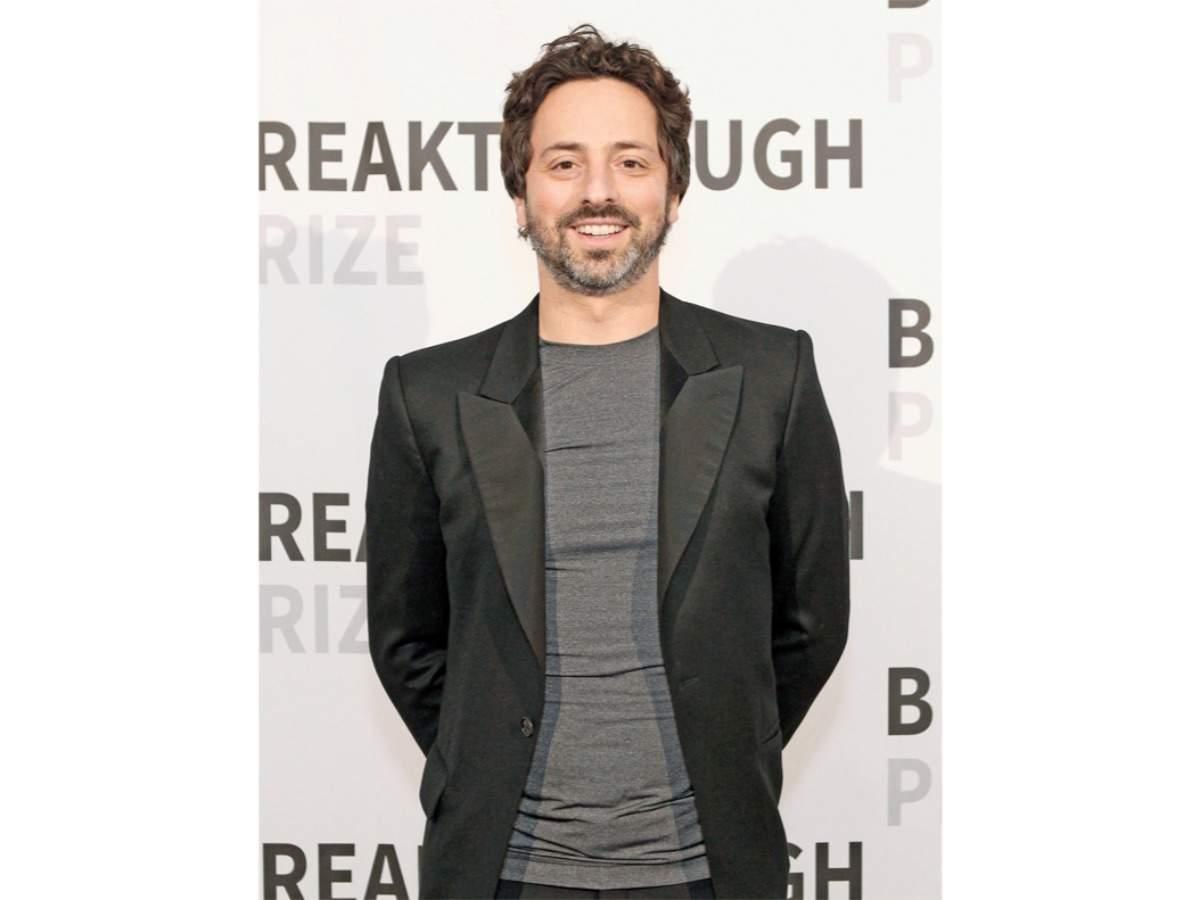 Sergey Brin, co-founder, Google