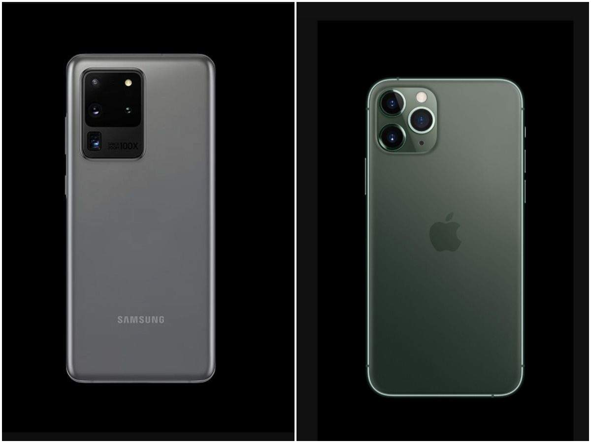 Comparing the two most-powerful phones: Samsung Galaxy S20 Ultra vs Apple iPhone 11 Pro