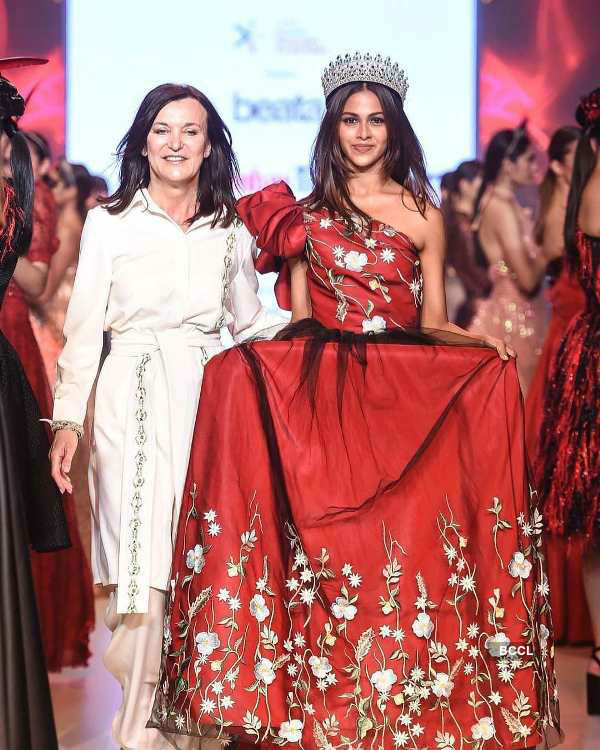Adline Castelino slays the ramp at Bombay Times Fashion Week 2020