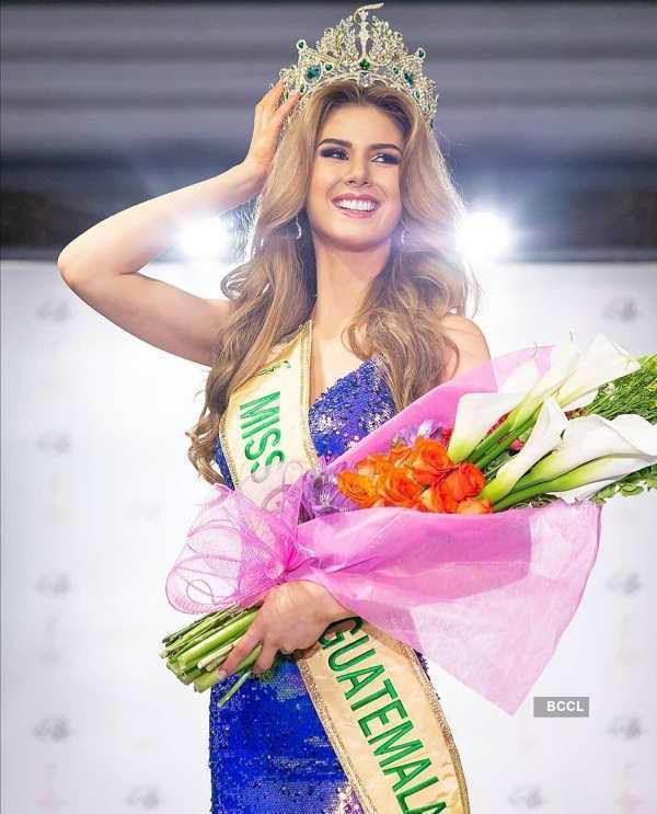 Ivana Batchelor crowned Miss Grand Guatemala 2020