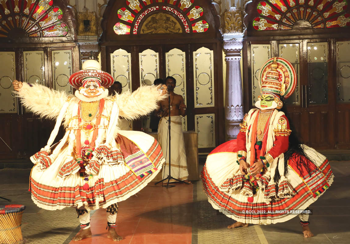 A colourful qasbati festival