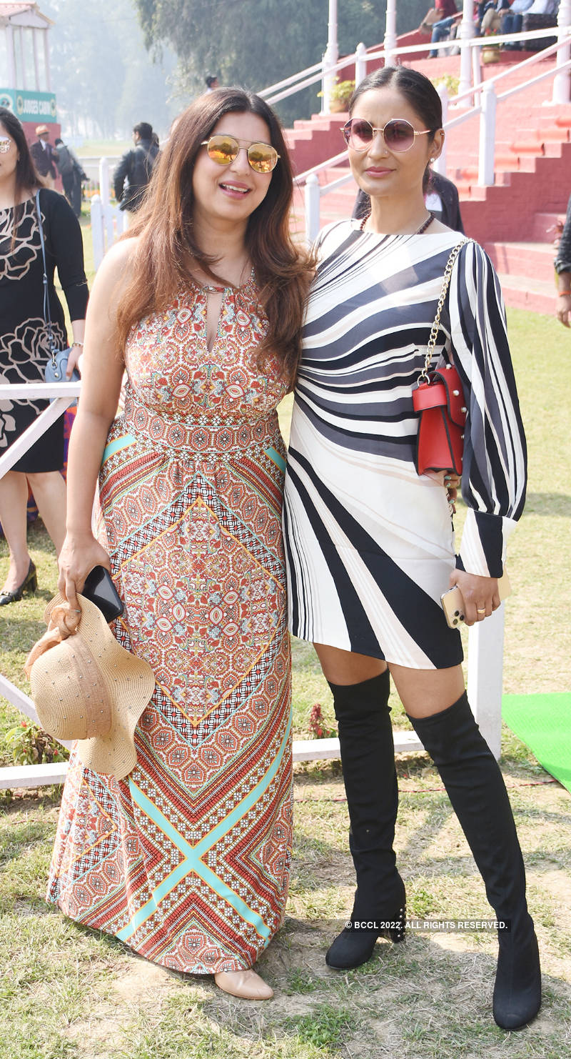 Lucknowites high on fashion and fun at this horse race