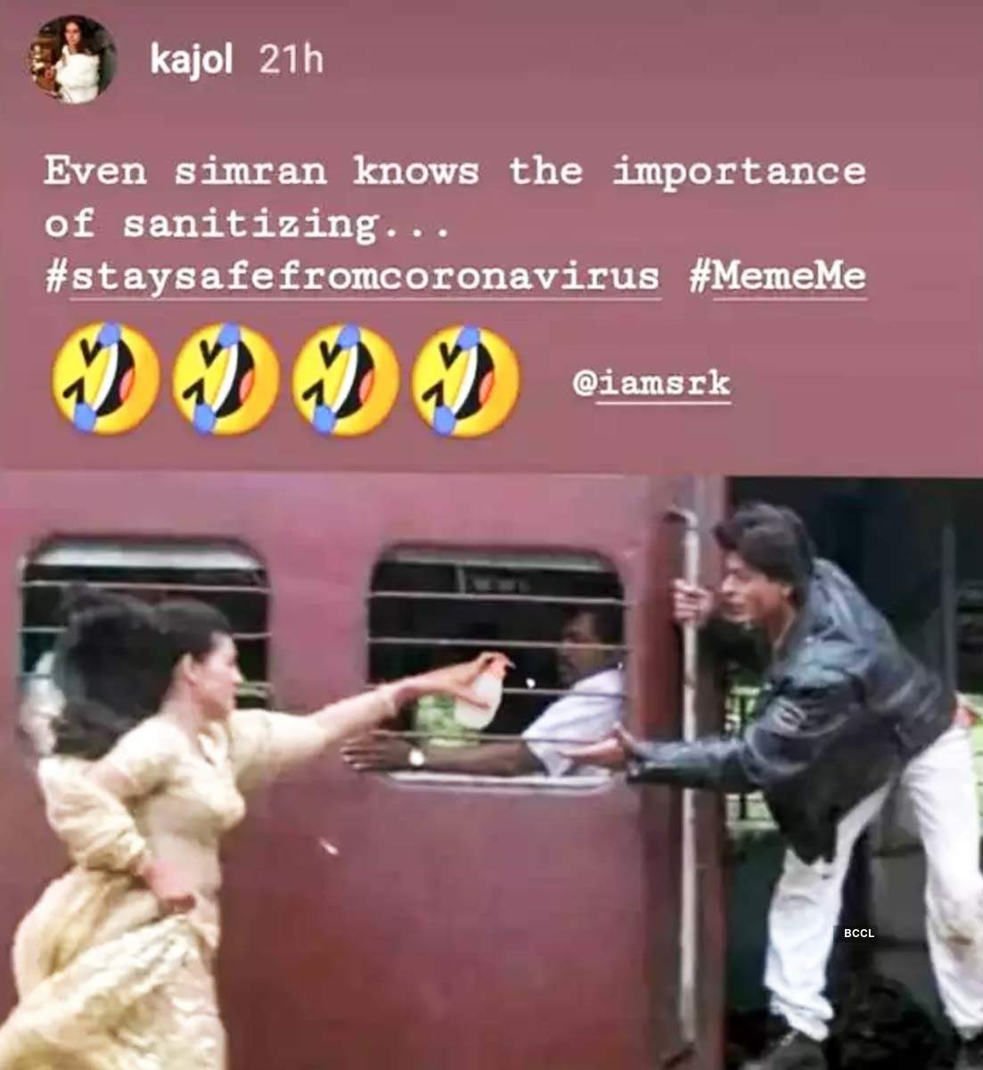 These coronavirus memes by Kajol, Malaika Arora and others will help you get through social distancing
