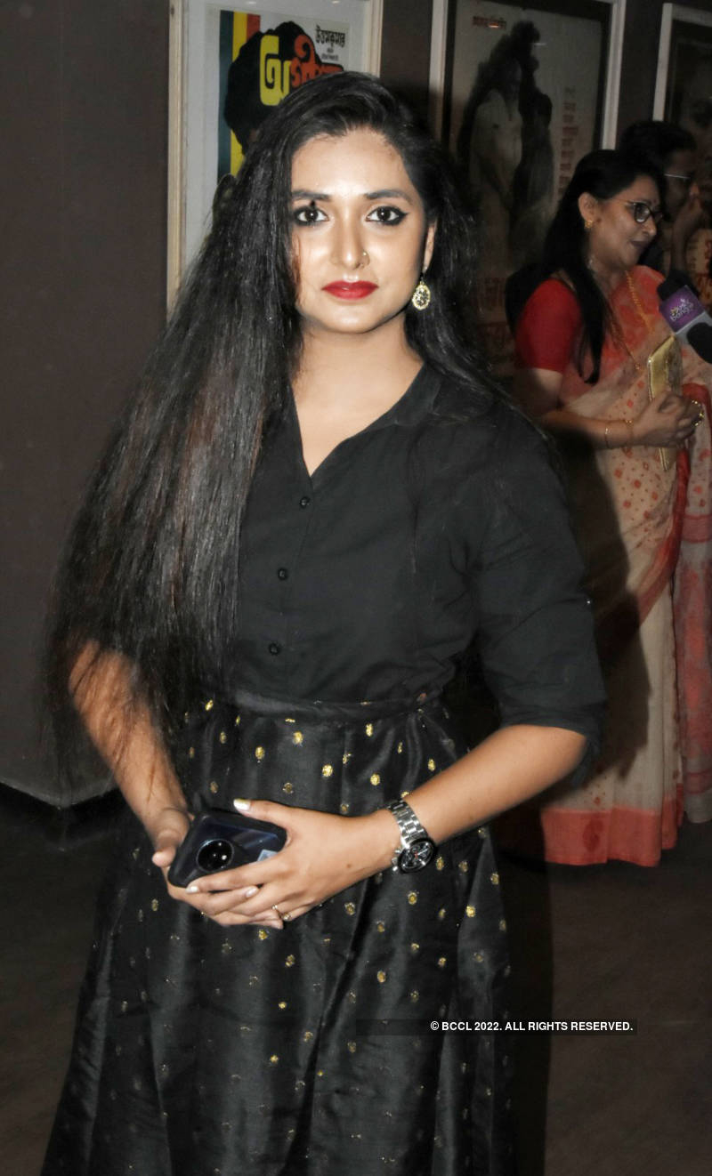 Celebs attend the premiere of Brahma Janen Gopon Kommoti