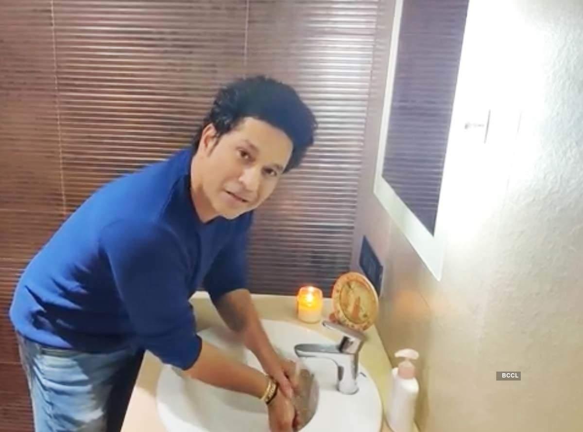 Sachin Tendulkar joins WHO's #SafeHandsChallenge to promote importance of washing hands