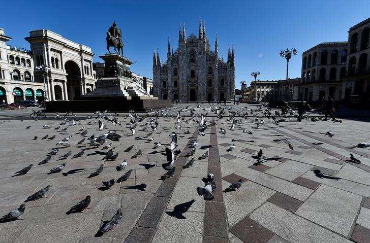 In pics: Cities around the world deserted amid coronavirus pandemic