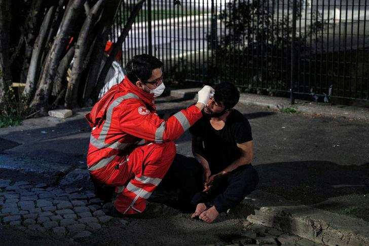 Rome's homeless at risk in coronavirus crisis