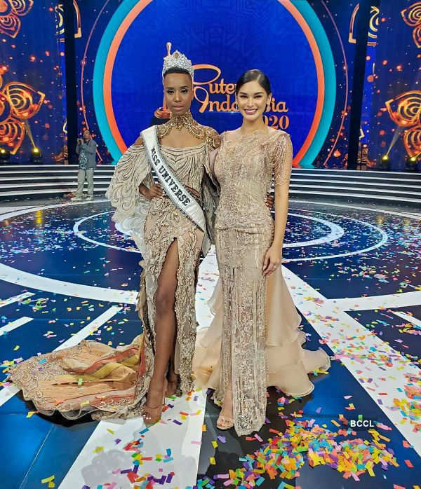 When Miss Universe 2015 met Miss Universe 2019