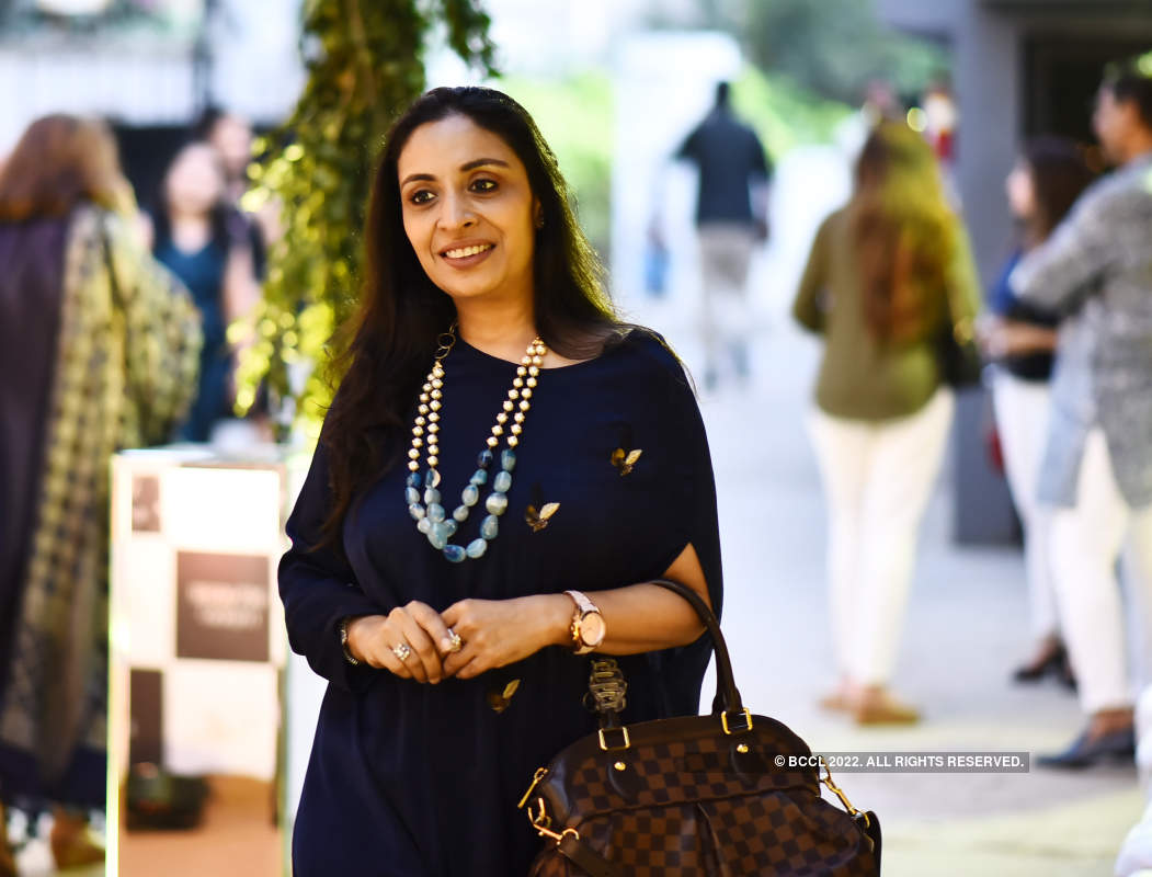 Pritha Hari attends the launch of a store