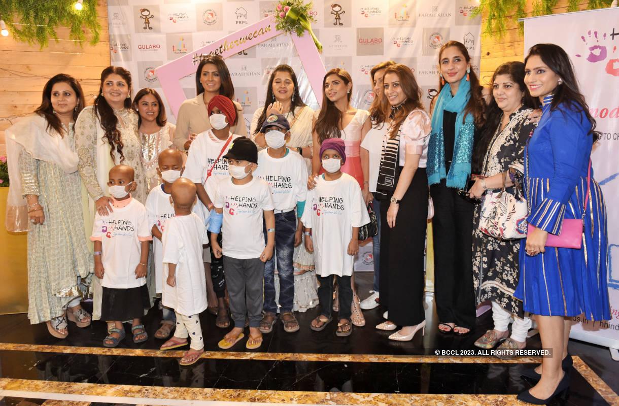Celebs attend Helping Hands Foundation Fundraiser Cum Exhibition