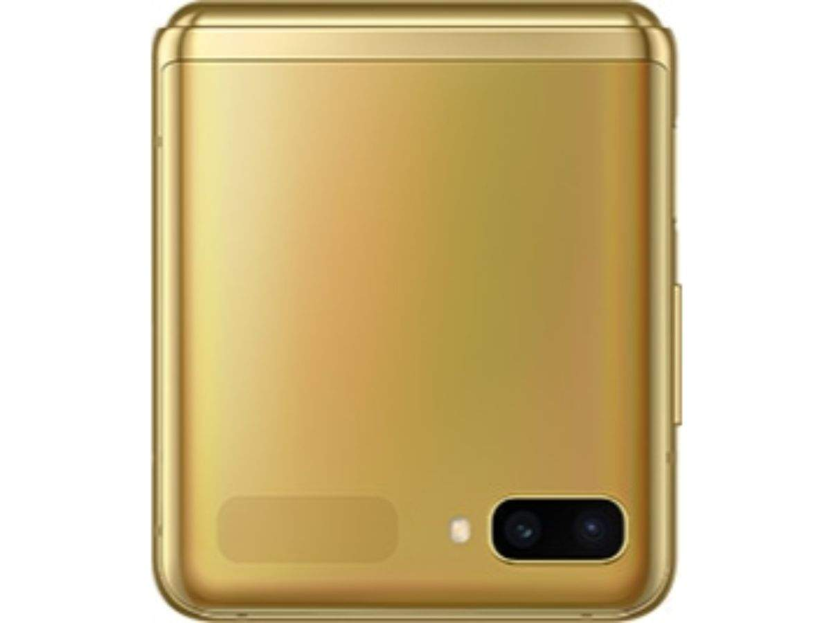 Galaxy Z Flip Samsung Galaxy Z Flip Mirror Gold Variant To Be Available In India Mobiles News Gadgets Now