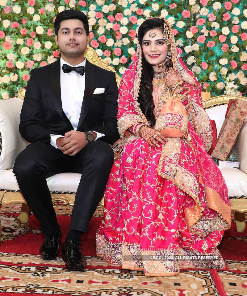Ahad Arshad and Sadaf Khan's wedding