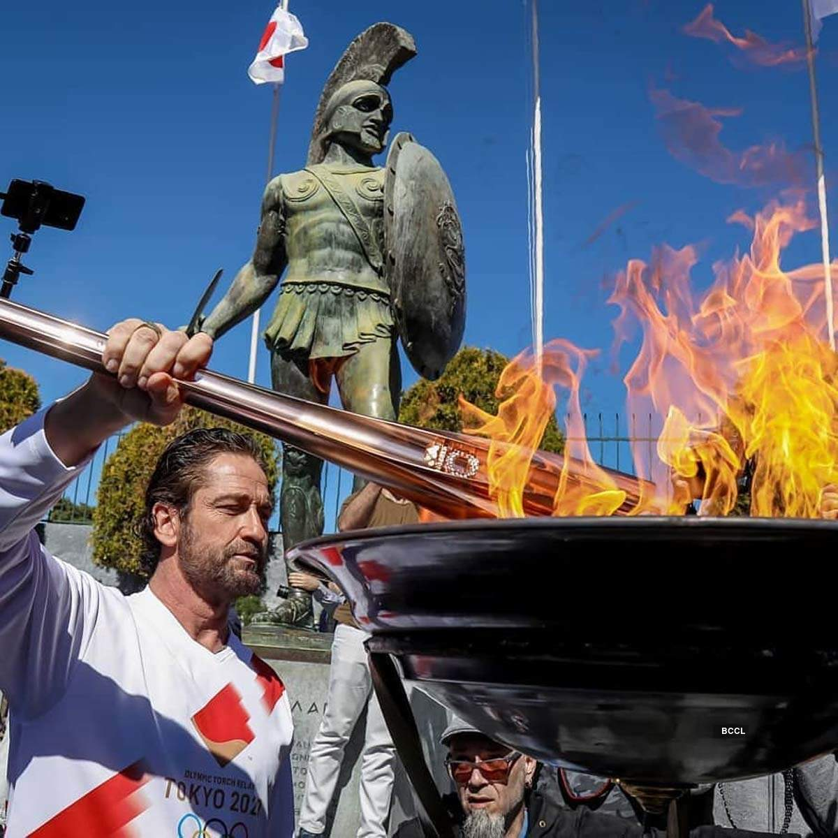 These pictures of the Olympic flame-lighting ceremony will pacify you amid coronavirus pandemic
