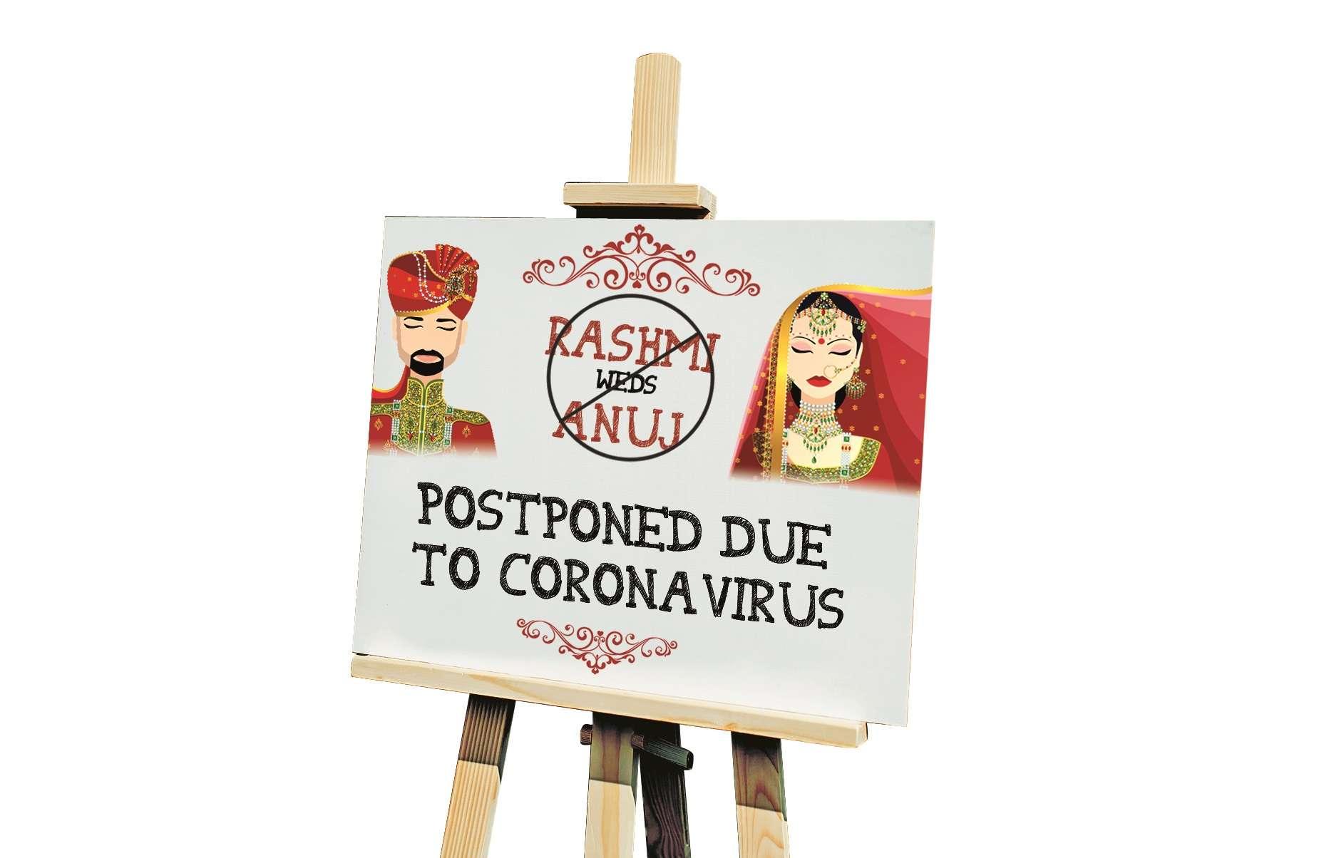 Wed postponed