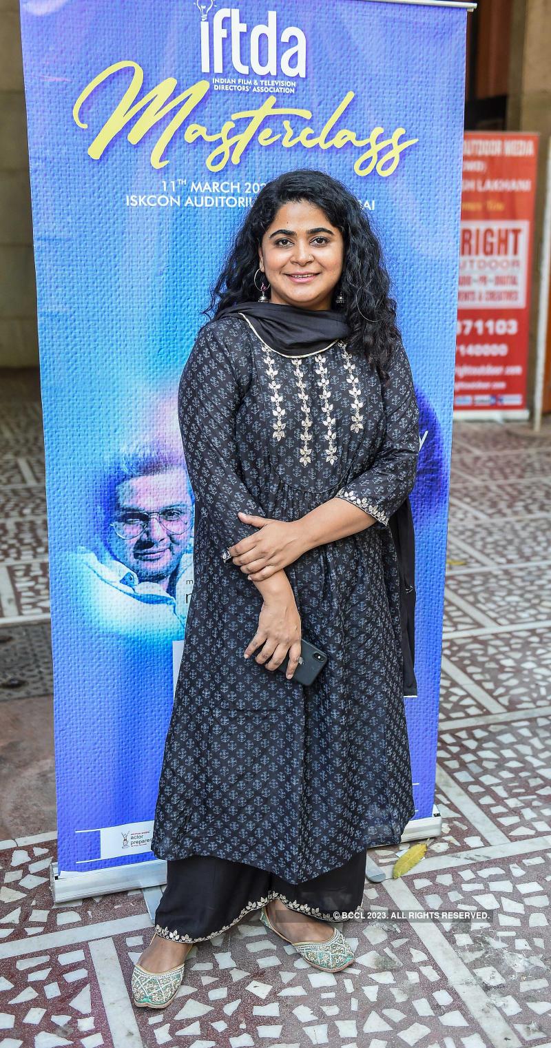 IFTDA Masterclass with Mukesh Chabbra & Ashwini Iyer Tiwari