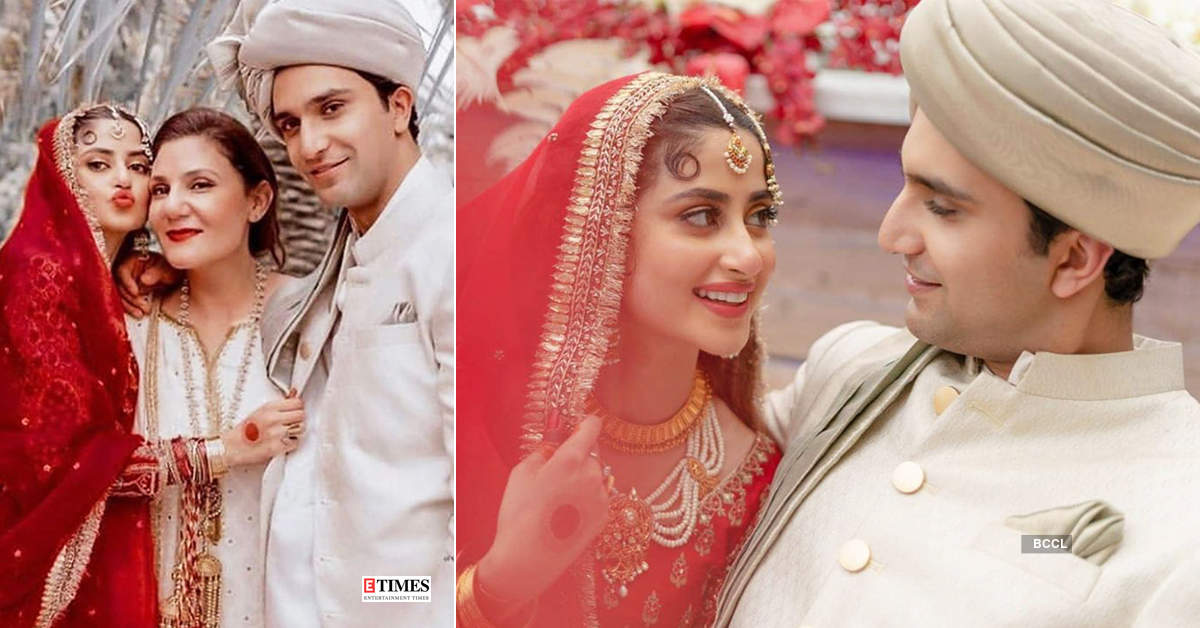 Sridevi's onscreen daughter Sajal Ali ties the knot with beau Ahad Raza Mir