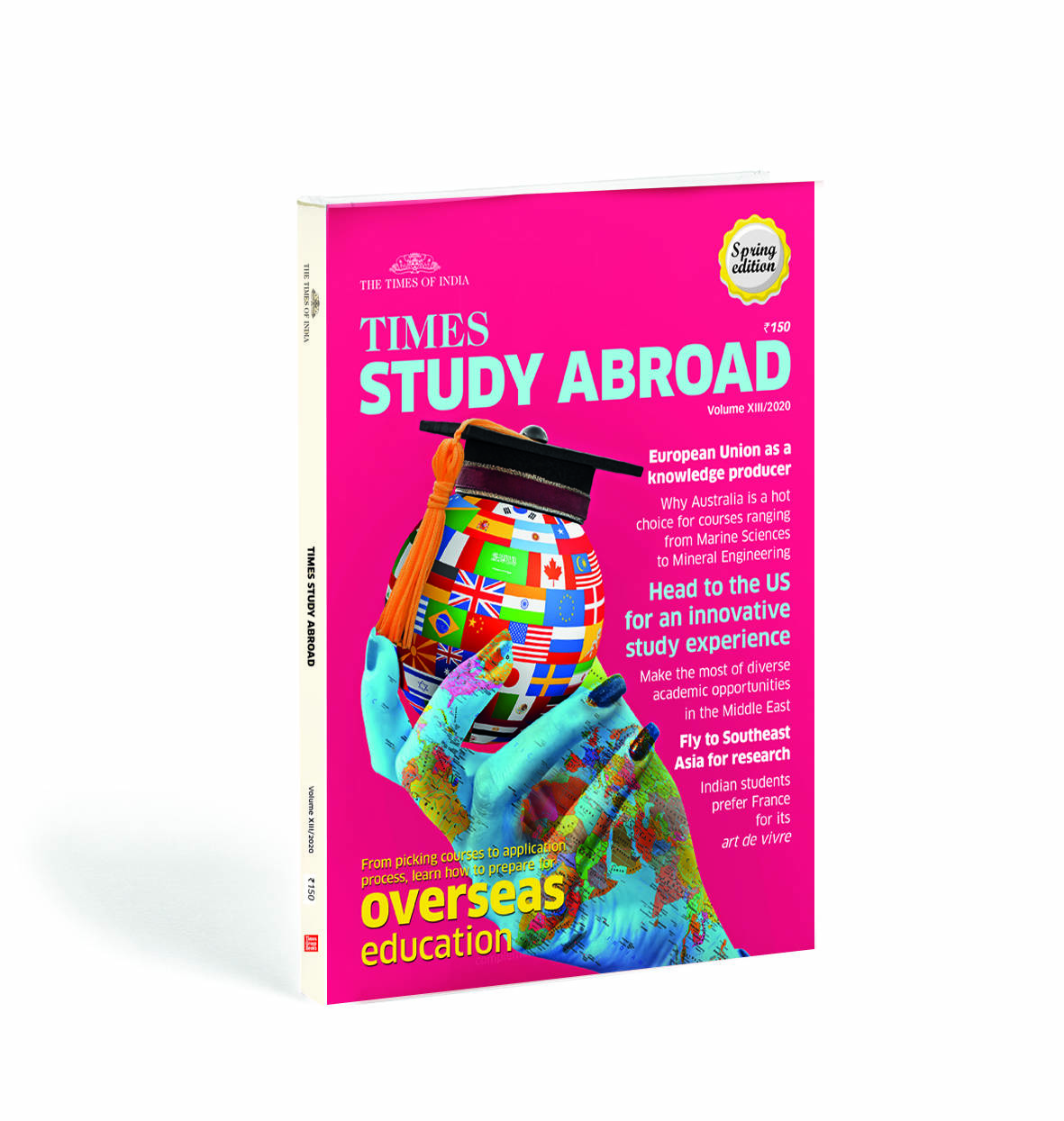 Times Study Abroad 2000 spring edition available on the stand and online platforms