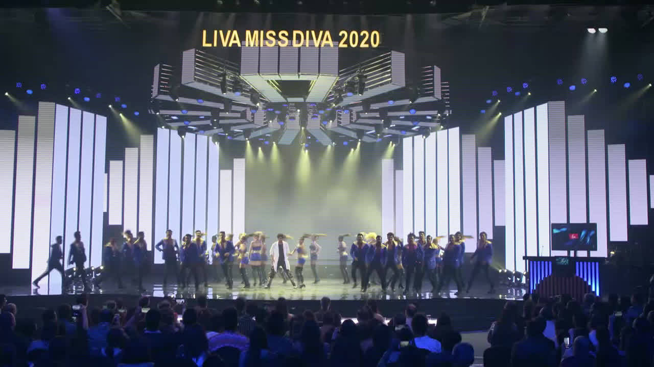 Jacqueline Fernandez and Ishaan Khatter perform at LIVA Miss Diva 2020 finale