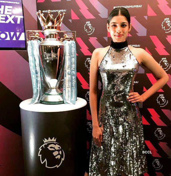 Naveli Deshmukh Attends Football Premier League Inauguration