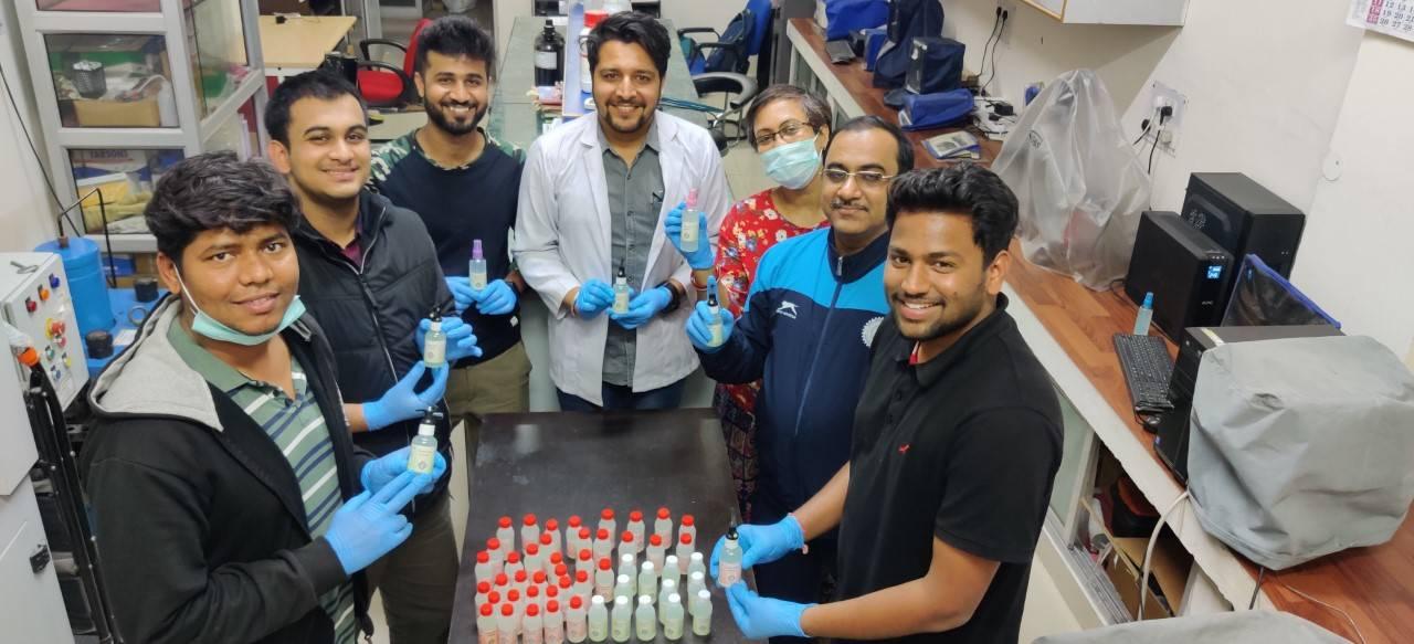 Coronavirus outbreak: After IIT Hyderabad, students from IIT Roorkee make herbal sanitizer