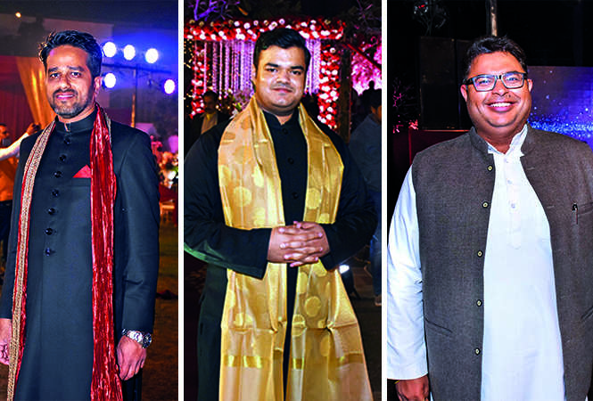 (L) Abhinav (C) Amev Dwivedi (R) Abhishek Mishra (BCCL/ Vishnu Jaiswal)