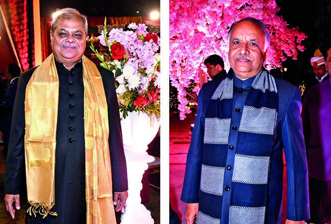 (L) Arun Dwivedi (R) Ashutosh Tandon (BCCL/ Vishnu Jaiswal)