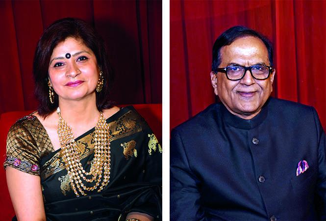 (L) Ritu Patney (R) Satish Chandra Mishra (BCCL/ Vishnu Jaiswal)