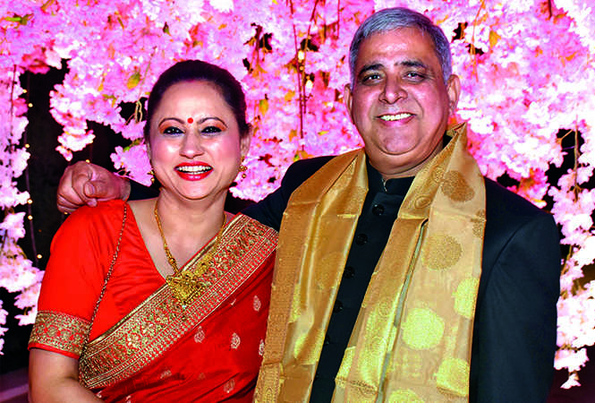 Sandhya and Satish Dwivedi (BCCL/ Vishnu Jaiswal)