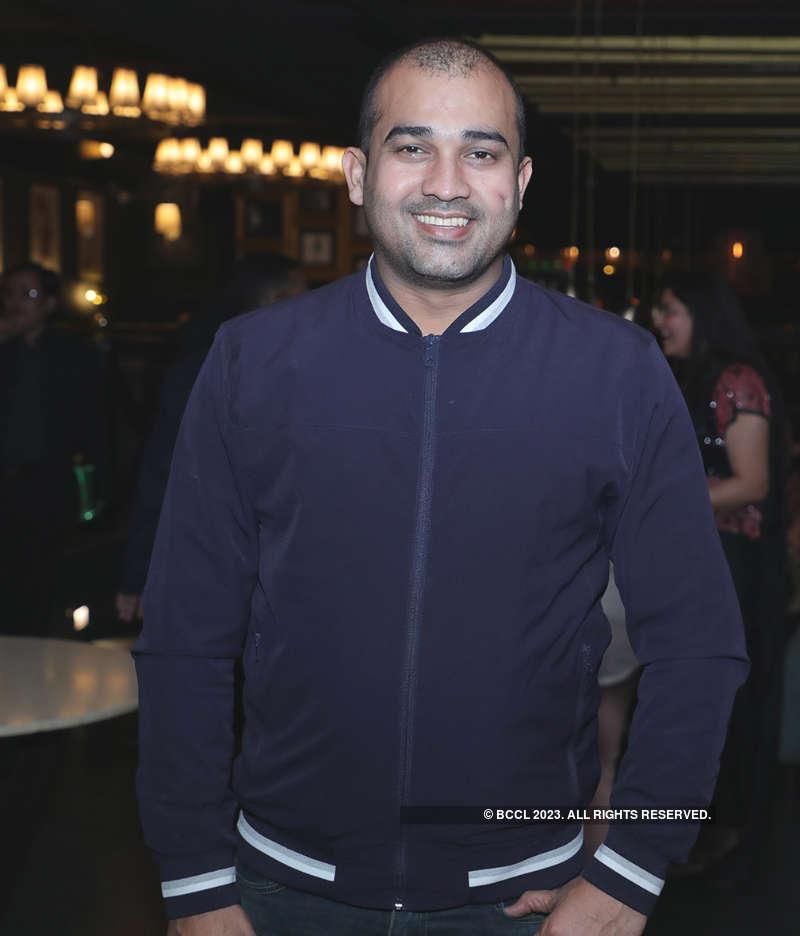 Anuj Gupta and Kirti's wedding anniversary party