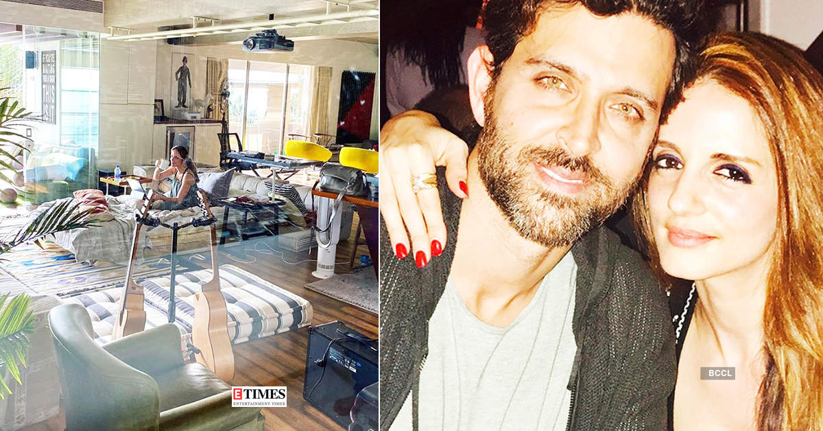 COVID-19: Sussanne Khan moves in with Hrithik Roshan, see pictures