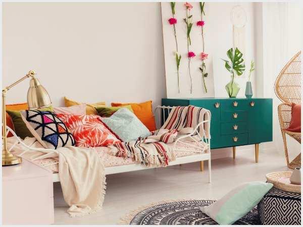 iStock-1068354230  Pick festive fabrics cushion