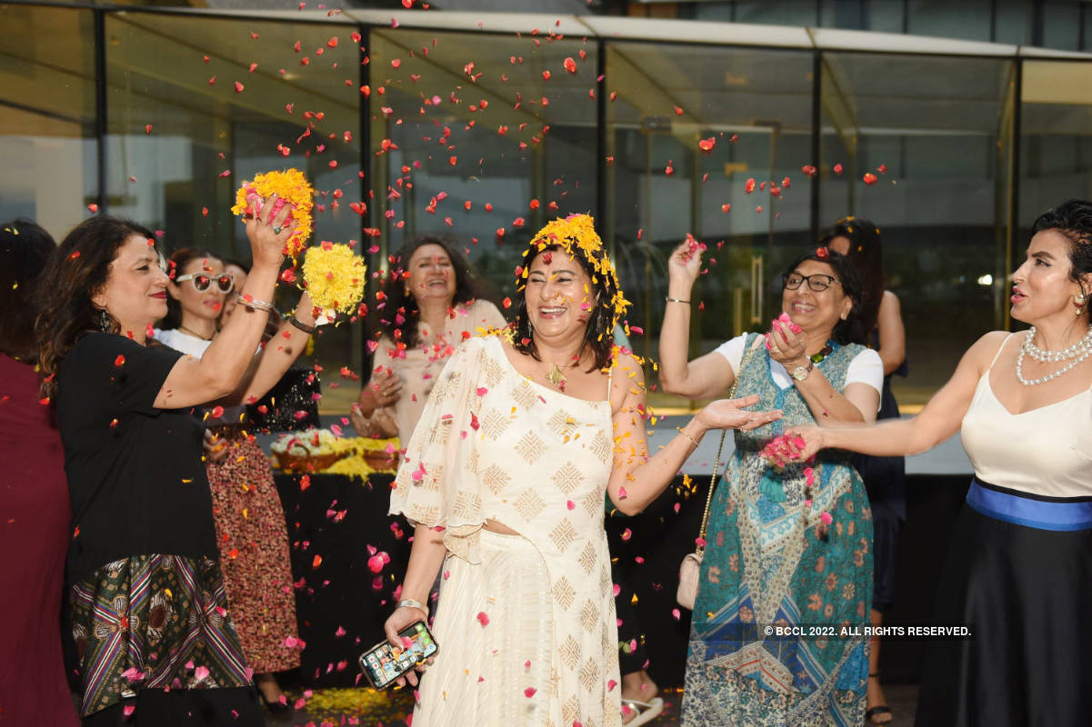 P3Ps attend fashion designer Ravita Mayor's birthday party