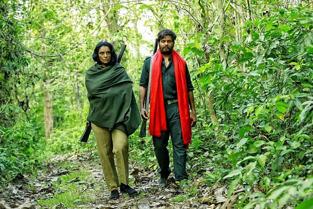 A still from Badal film