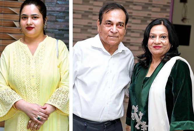 (L) Shabina (R) Zafar Nabi and Farida Yasmin (BCCL/ Aditya Yadav)