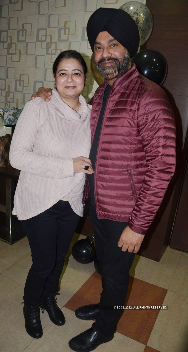 Anurradha hosts a surprise party for Rohit Agarwal
