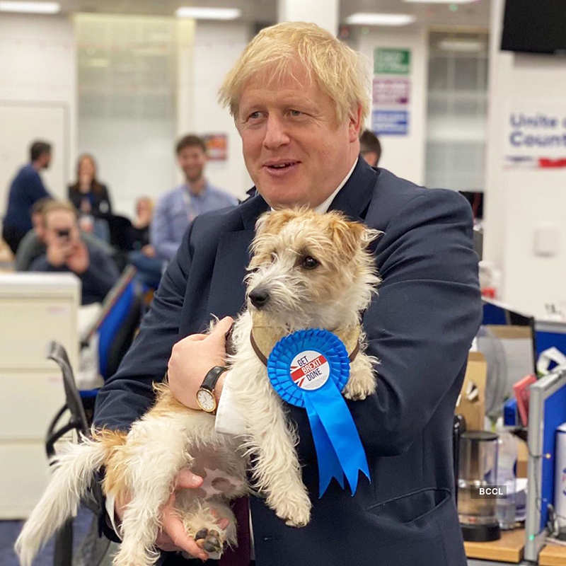 Candid pictures of UK PM Boris Johnson, who has been tested positive for coronavirus